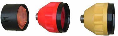 04S/04T revêtement simple d'argent de prisme de 2,5 pouces ou sans et type revêtement simple de 04L Leica d'en cuivre de prisme ou sans
